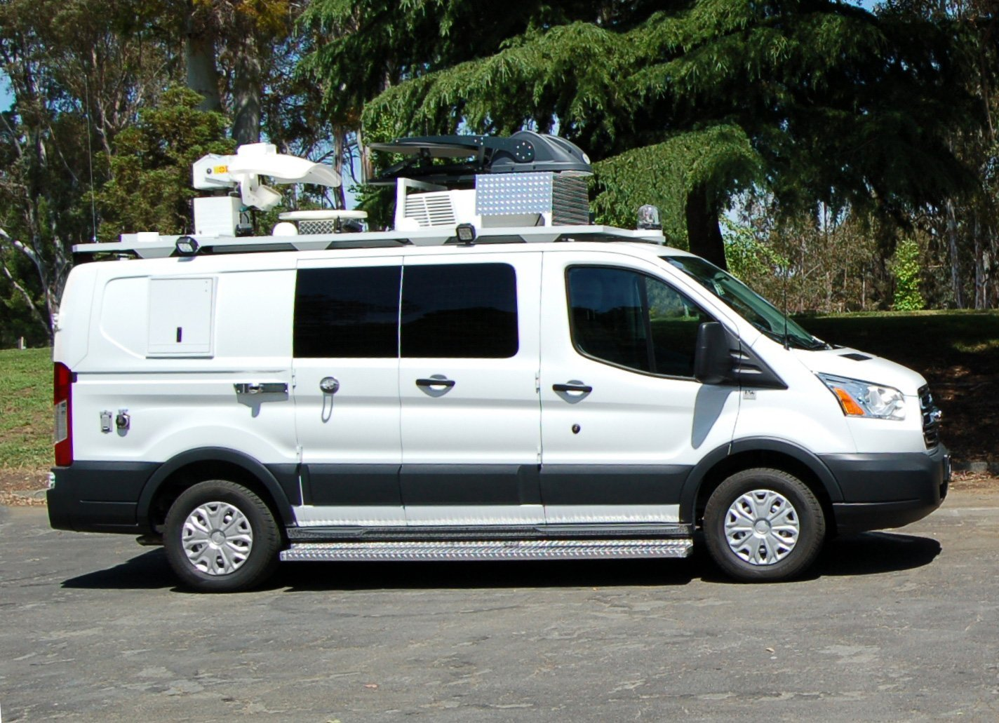 KGO Broadcast News Van