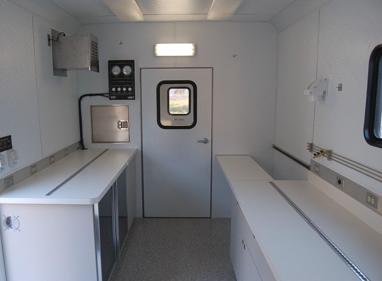 Mobile Laboratory 824D-02 Interior