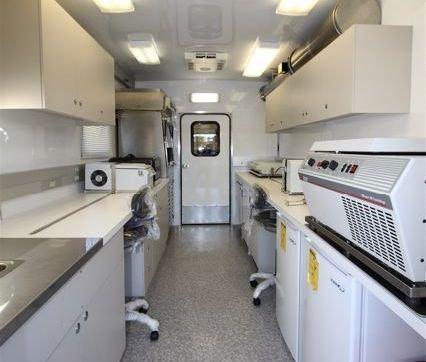 Mobile Laboratory 828D-02 Interior