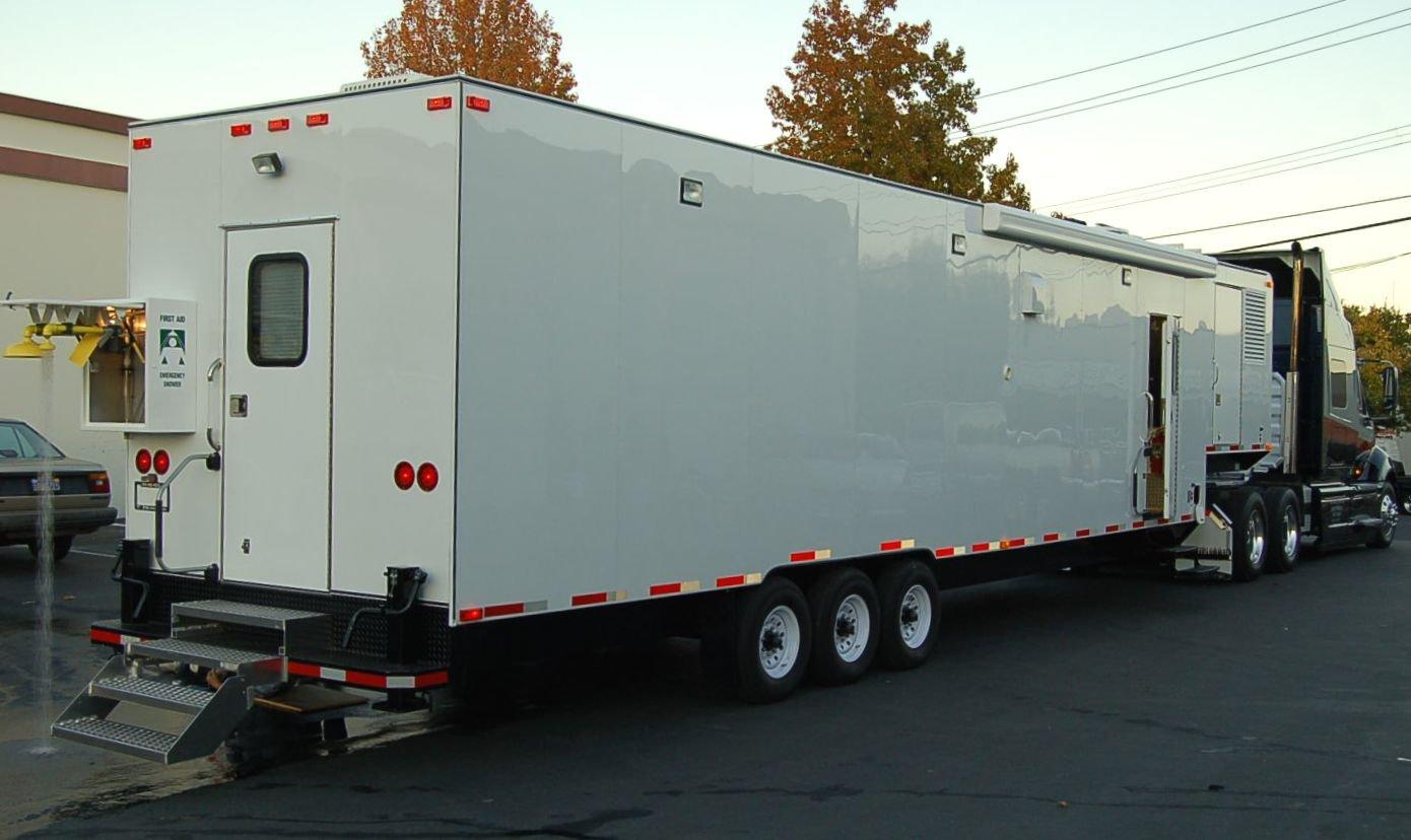 Mobile Laboratory 528D-01 Interior