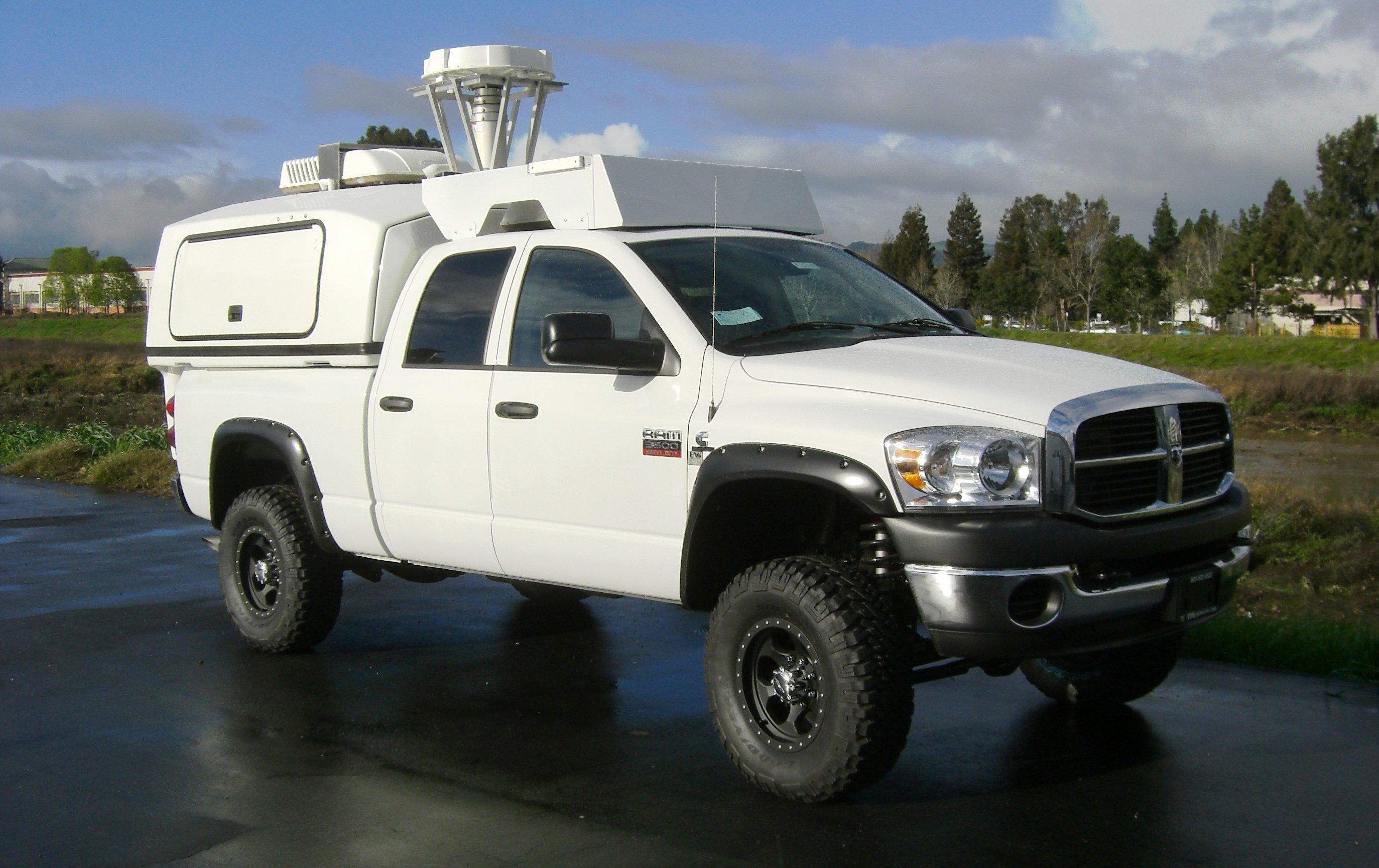 RF Test Platform Vehicles
