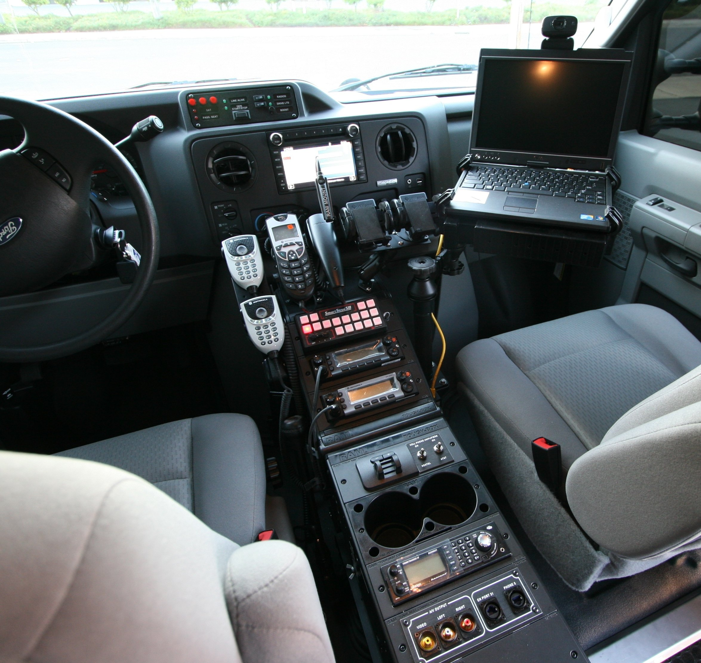 Specialty Vehicles Console