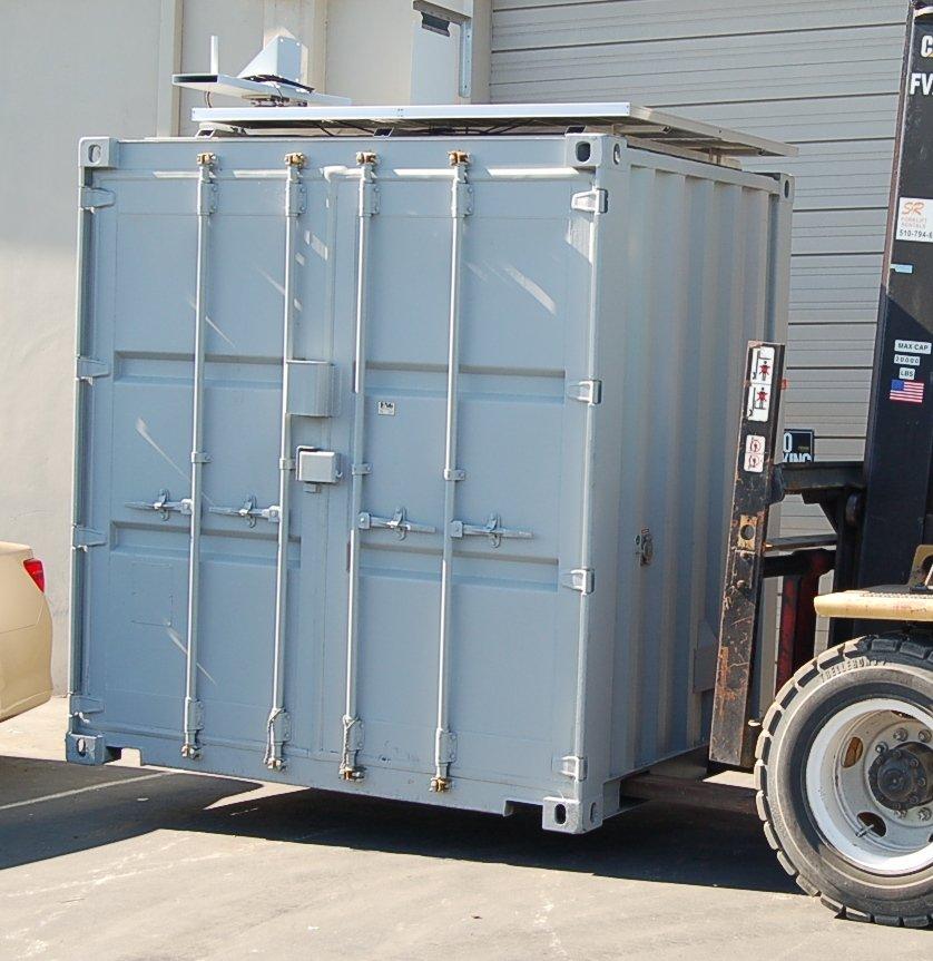 Surveillance Container (Pod) Exterior
