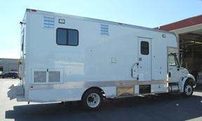 Mobile Laboratory 220D-02 Exterior