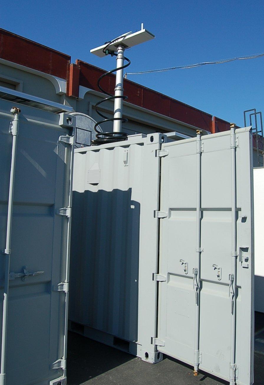 Surveillance Container Mast