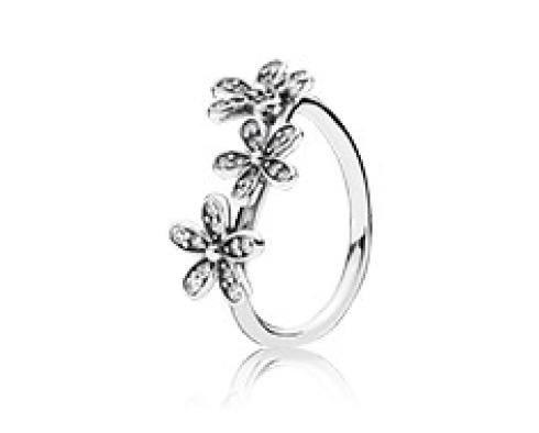 Anello argento decorato
