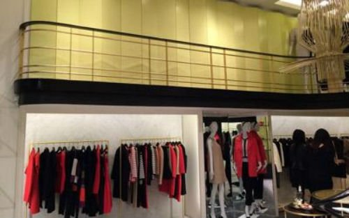 un negozio di abbigliamento