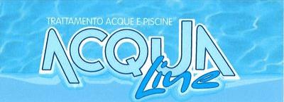 Acqualine trattamento acque e piscine logo