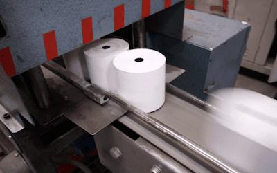 Rotoli in carta cellulosa
