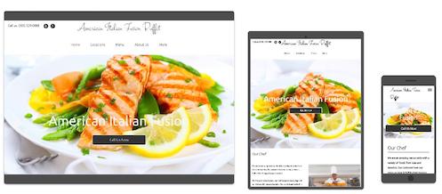 websites for restaurants