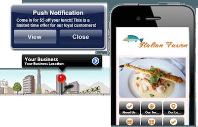 Mobile app for Restaurants