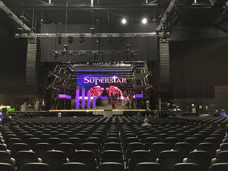 Allestimento Scenografia Teatrale per musical Jesus Chris SuperStar