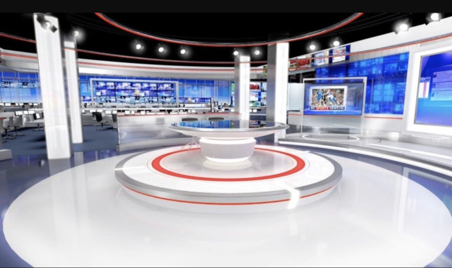 Allestimento Scenografico Studio Televisivo Sky Sport