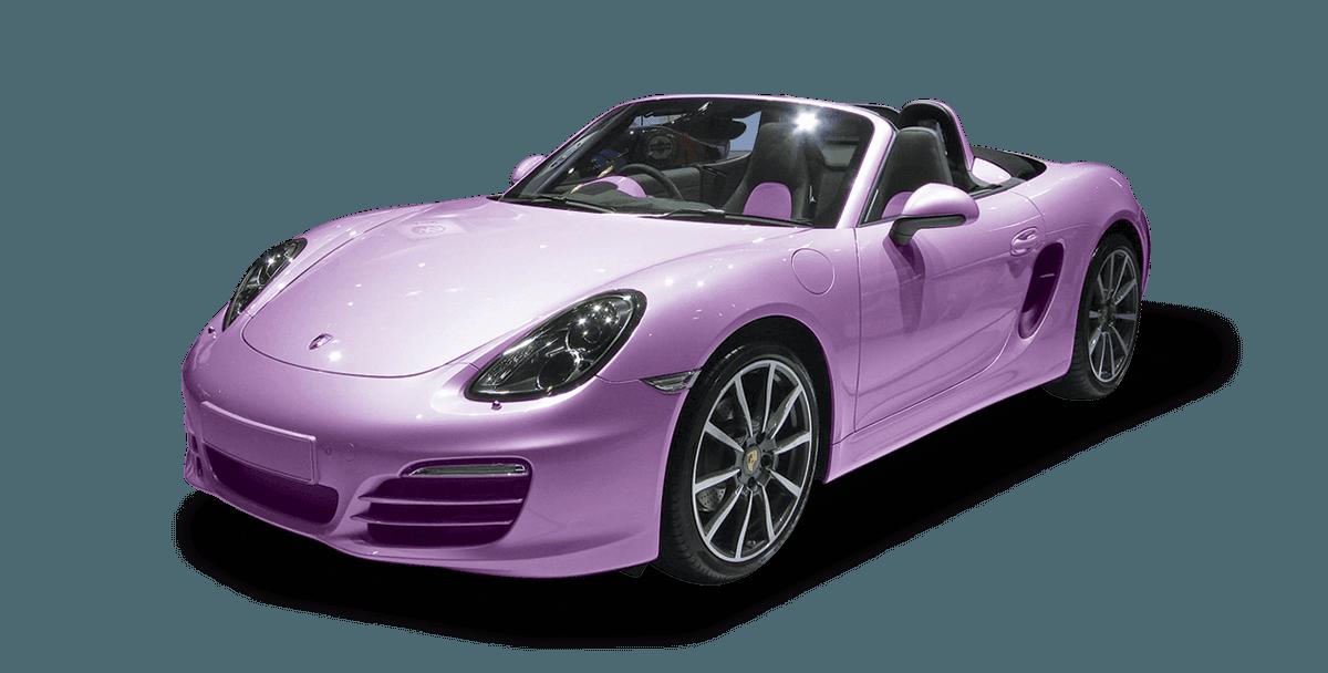 purple colour car