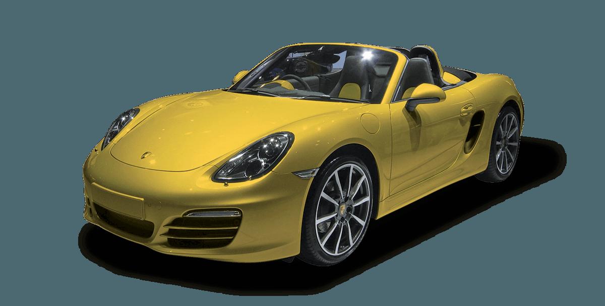 yellow colour car