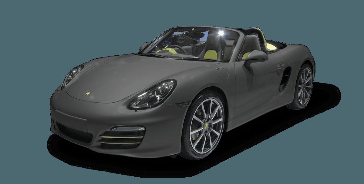 grey colour car
