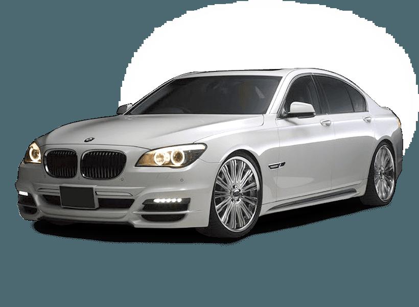Luxury car white