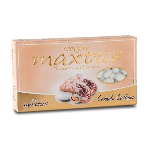 Confetti al gusto di cannolo siciliano - Confetti Maxtris - Casa della Bomboniera Siena