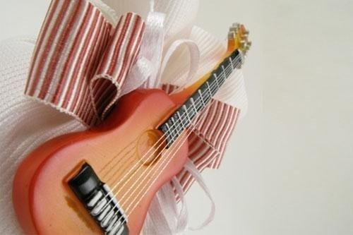 Bomboniera con chitarra