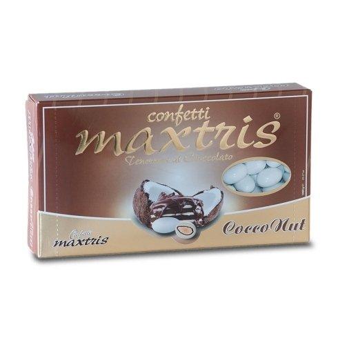 Confetti cocco e nutella - Confetti Maxtris - Casa della Bomboniera Siena