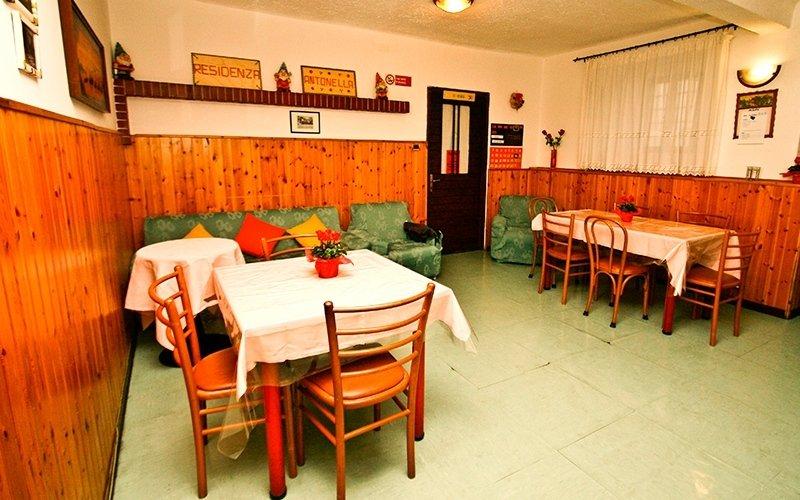 sala da pranzo casa di riposo