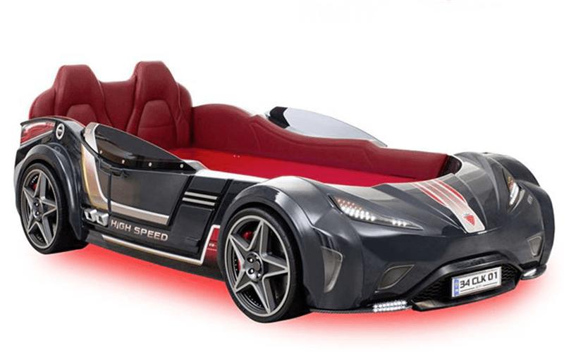 Car-Bed GTI Antracite Multifunzione