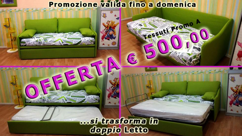 offerta speciale divano letto