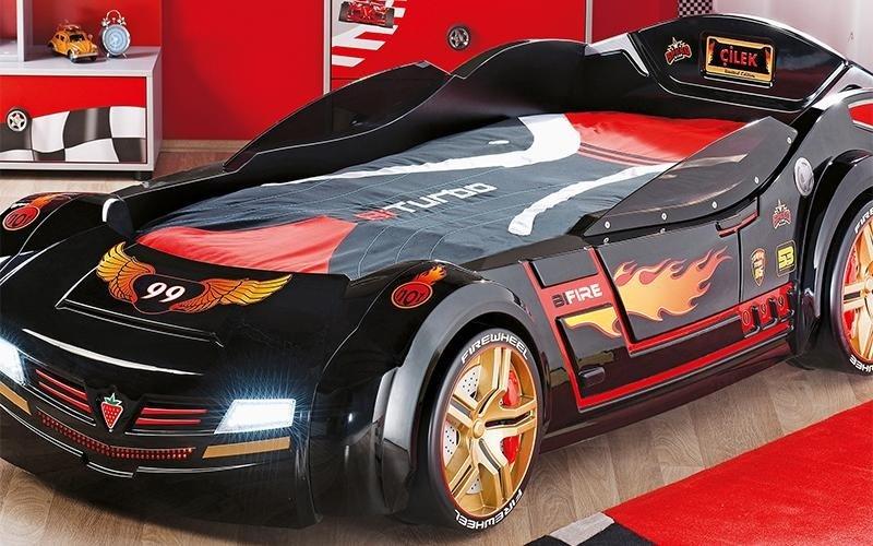 biconcept car bed black
