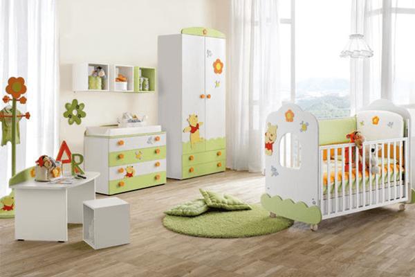 cassettiera e armadio per neonati