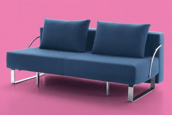divano a letto struttura metallica