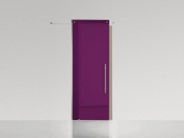 porta vetro colorata