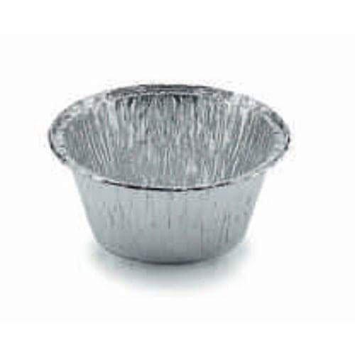 foto sfuocata di un piccolo recipiente di metallo