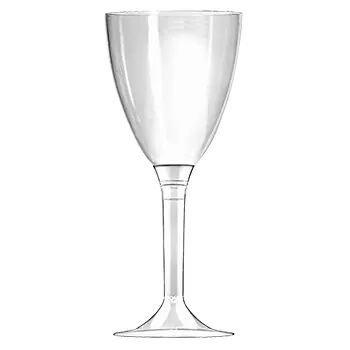 un calice di vetro