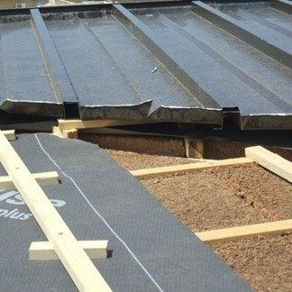 pannello sughero, rivestimento tetti