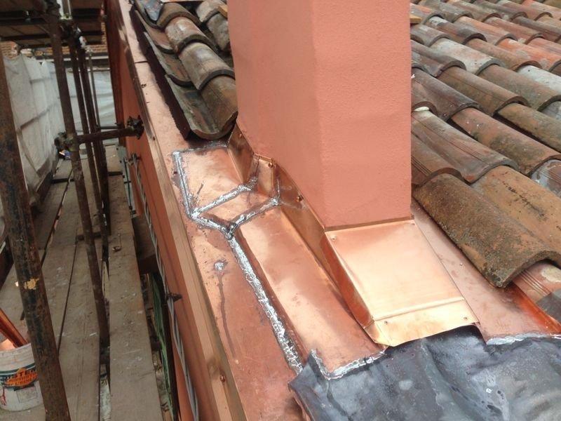 lavoro su tetto