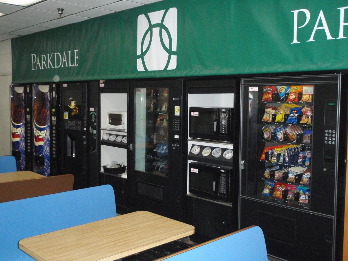 Snack Vending Machines, Burlington NC