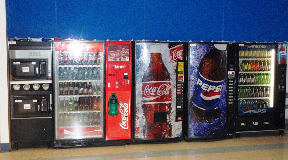 Beverage Vending Machines, Winston-Salem NC