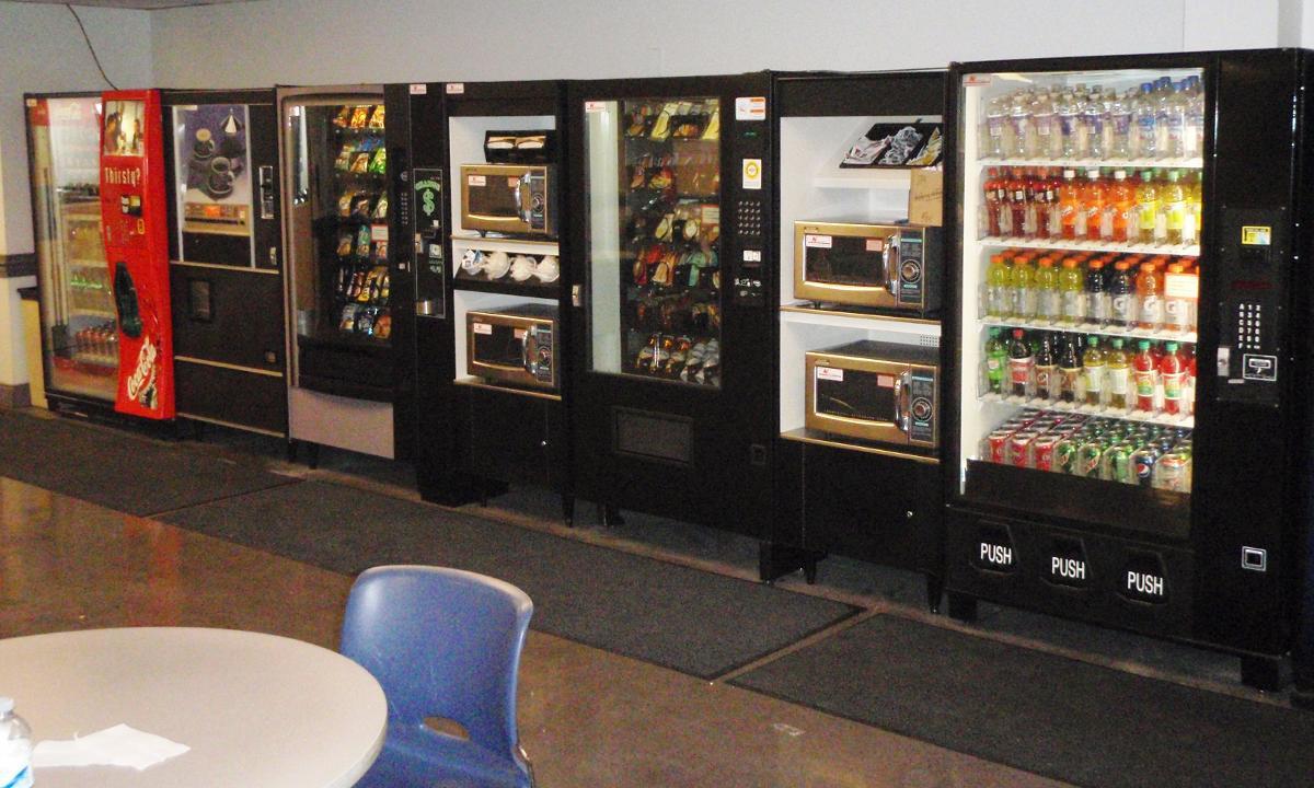 Snack & Beverage Vending Machines, Greensboro NC
