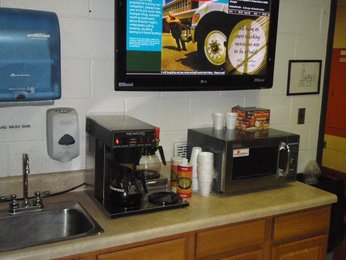 Break Room Coffee Machine Service, Greensboro NC