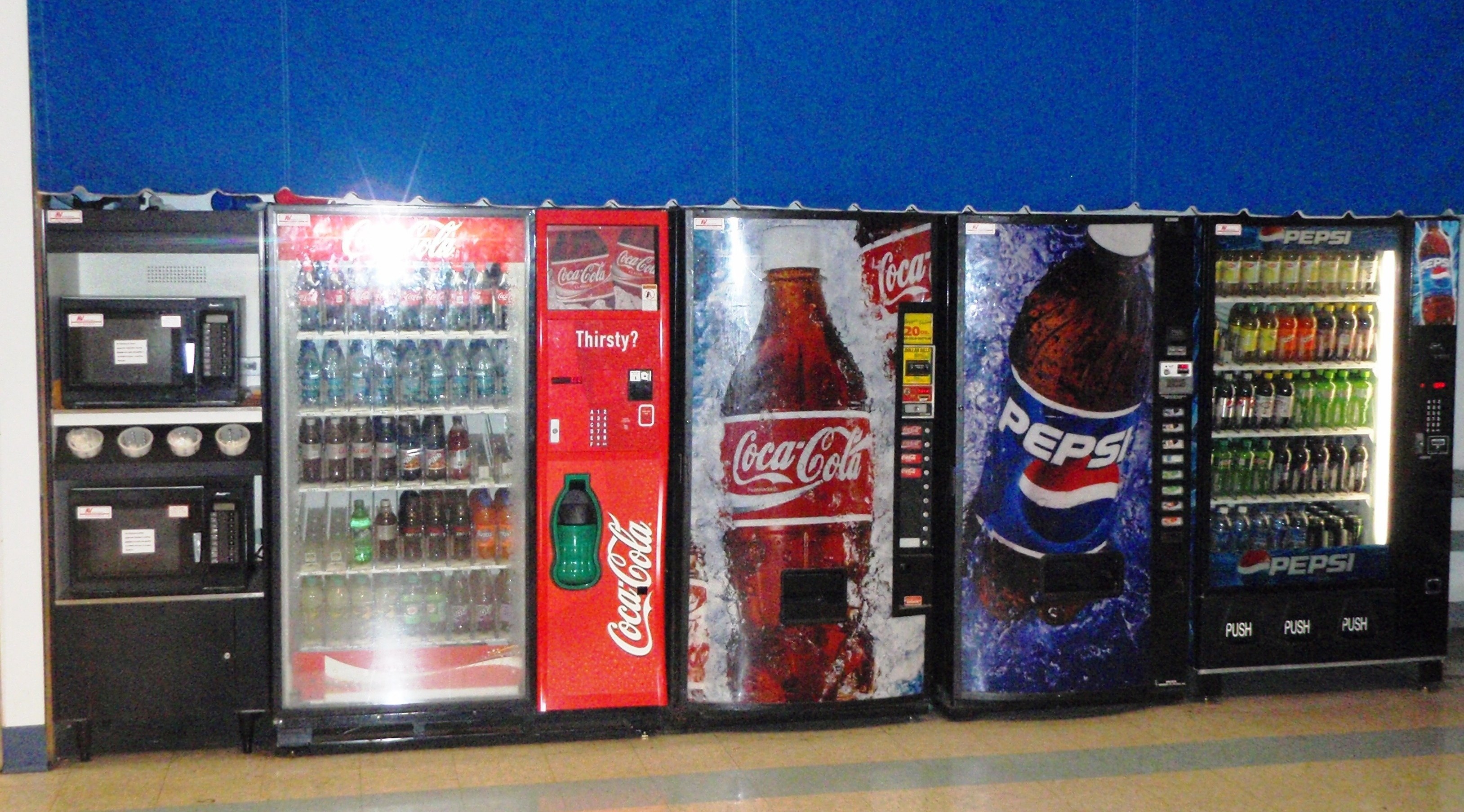 Beverage Vending Machines, Burlington NC