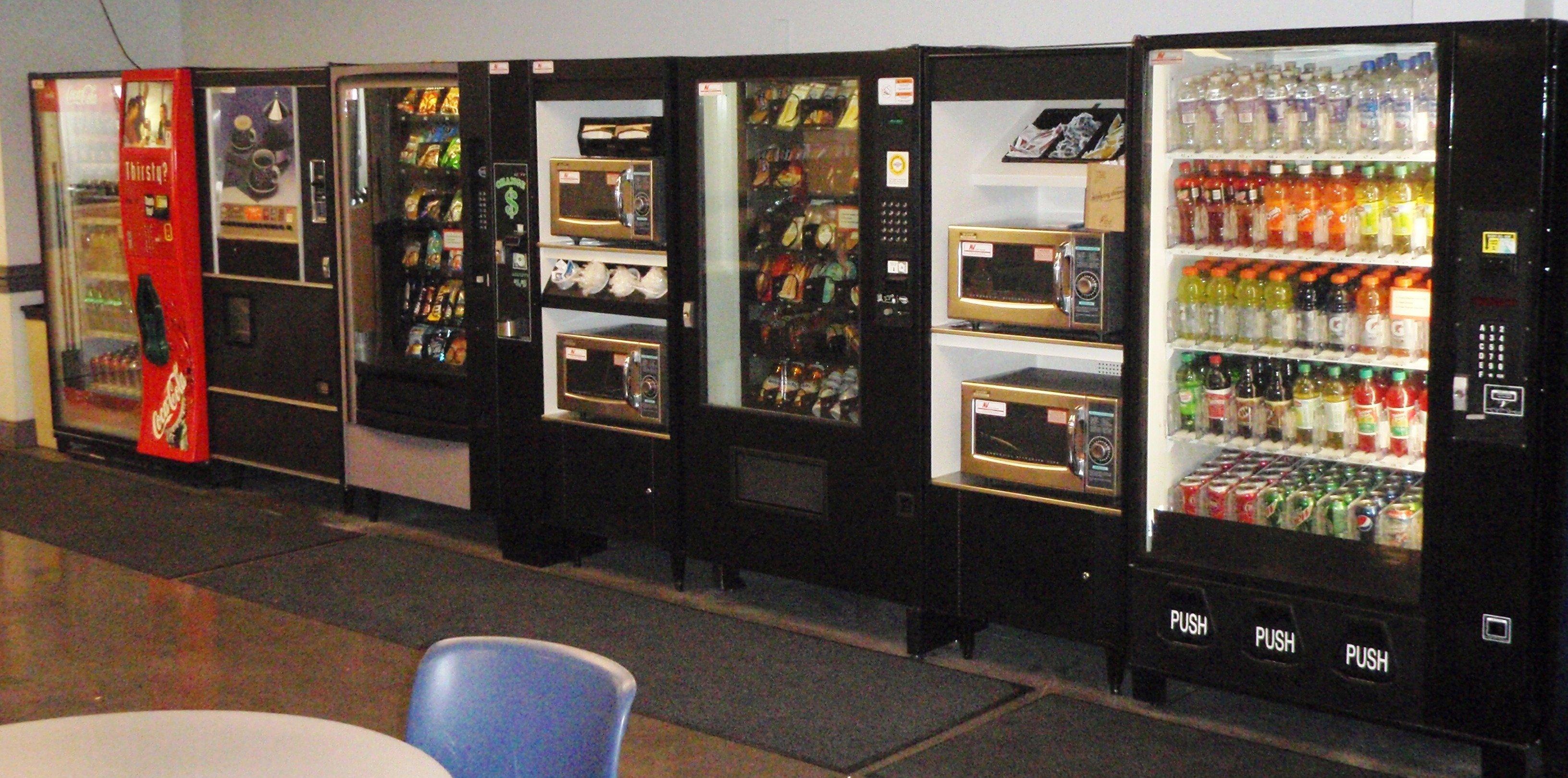 Beverage Vending Machine Service, Greensboro NC
