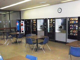 Vending Machines in Break Room, Winston-Salem NC
