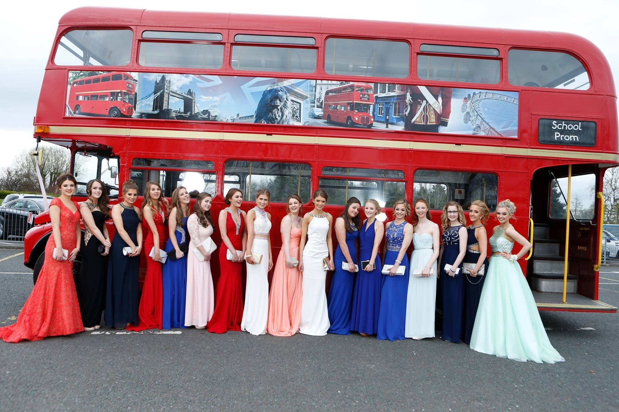 Prom transportation in Newcastle