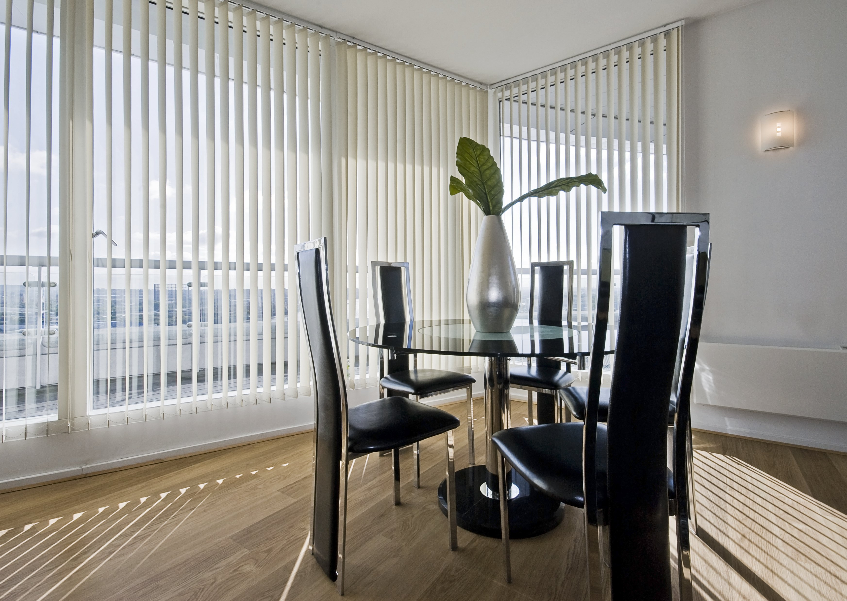 flat blinds