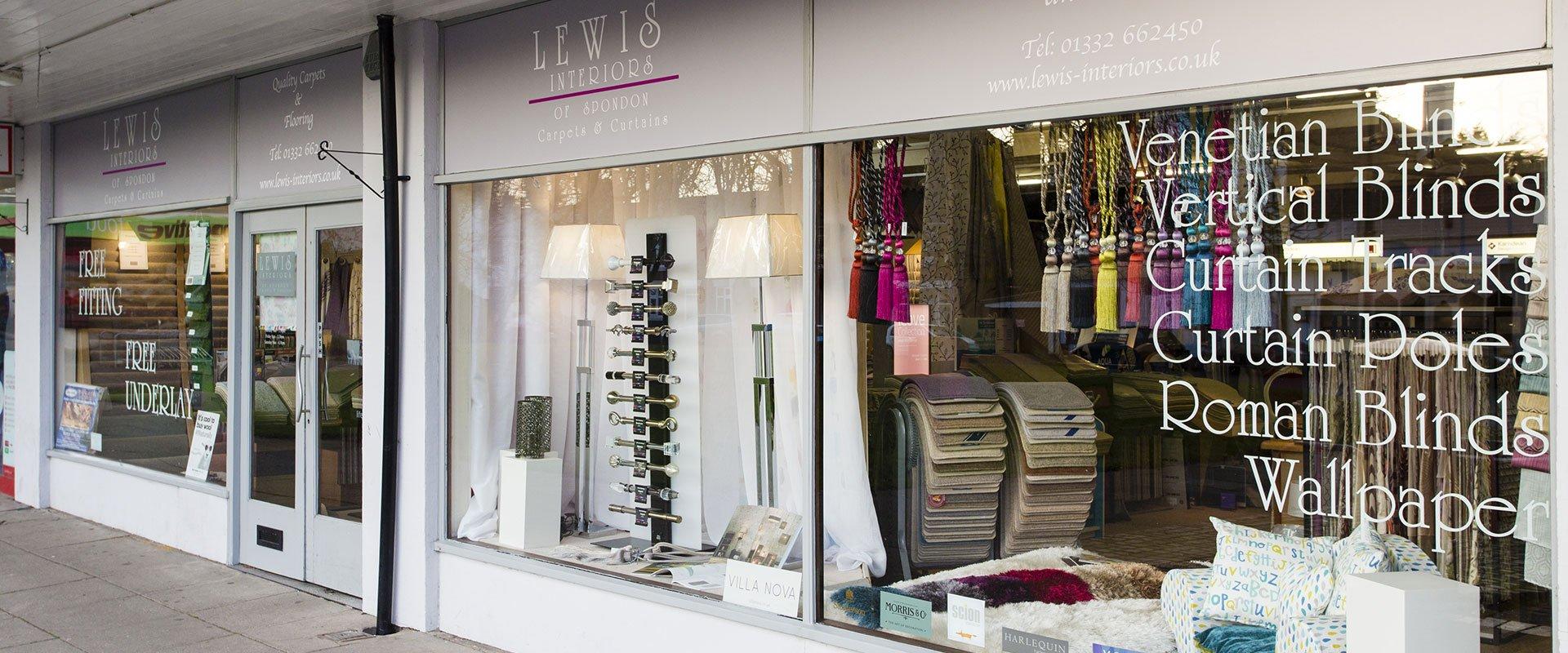 Lewis Interior store