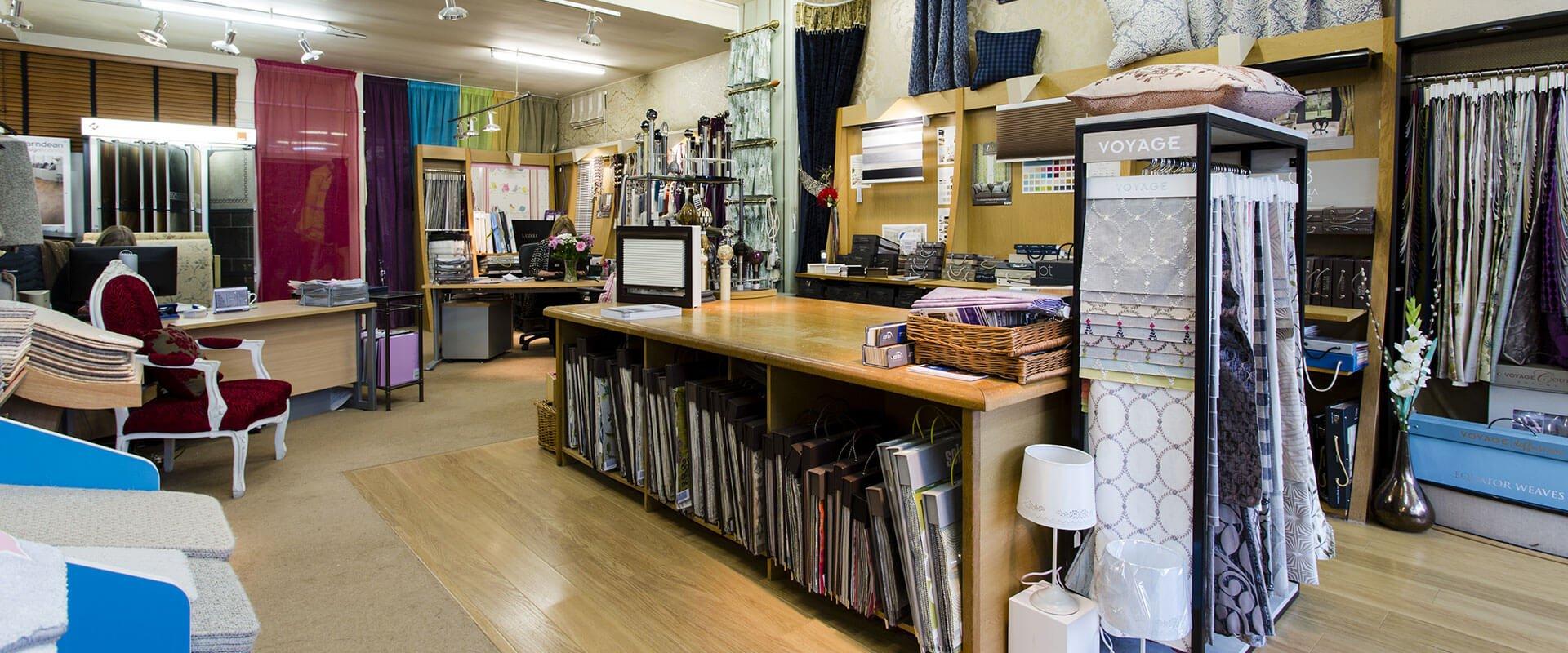 the store interior