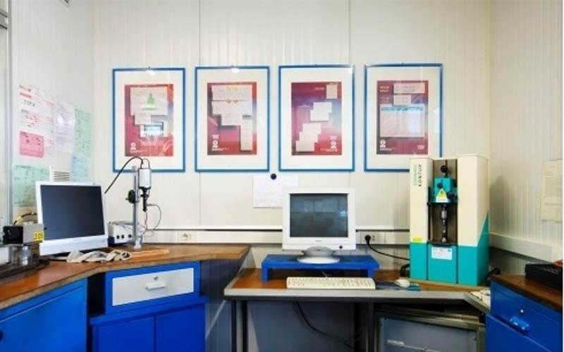 fully equipped metrology room