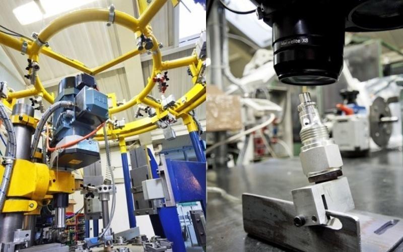 Herstellung von Metallkleinteilen