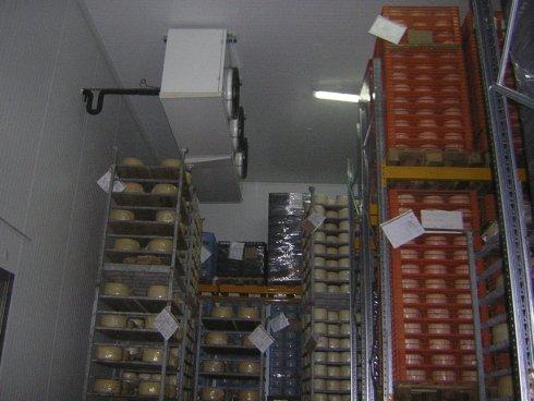 conservazione latticini, attrezzature per alberghi, frigoriferi per caseifici