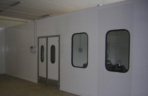pannelli termoisolanti, banchi frigoriferi, celle di refrigerazione